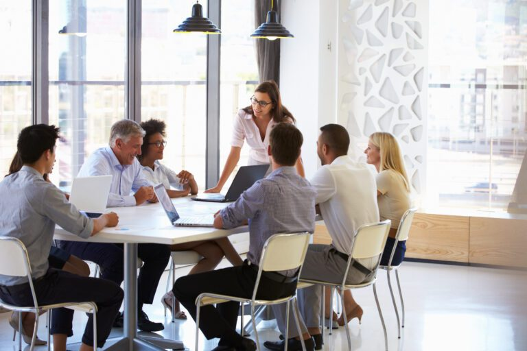 A healthy team culture with conflict leadership